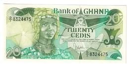 Ghana 20 Cedis 15/07/1986 UNC - Ghana