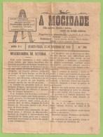 Setúbal - Jornal A Mocidade Nº 285 De 15 De Novembro De 1916 - Imprensa - Magazines