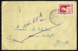 """C.O.B. N° 864 Seul Sur Lettre - Oblit """" 23/9/1951"""". - Belgique"""