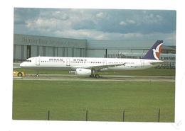 CARTOLINA AIRBUS A321 - 1 - 1946-....: Moderne