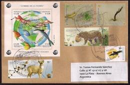 Argentina - 2009 - Lettre - Sommet De La Terre 1993 - Préservation Du Système écologique - Lettres & Documents