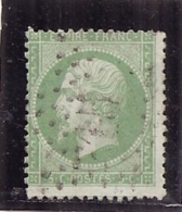 FRANCE  Napoléon  N° 20 Napoléon Côte 10€ - 1862 Napoléon III