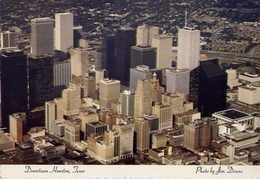 Downtown Houston - Texas - Formato Grande Viaggiata – E 5 - Mondo