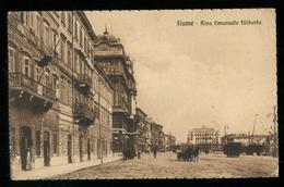 CROAZIA - FIUME - RIJEKA - 1927 - RIVA EMANUELE FILIBERTO - Croazia