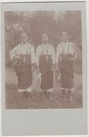 7942 Ukraine Romania Bukowina Romanian Types Original Photo Pc 1910s - Ucraina