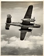 1943   PASSED BY CENSOR NORTH AMERICAN B25 MITCHELL   21,5 * 16,5 CM  Bomber - Aviación