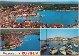 Pozdrav Iz ROVINJA, Croatia, Unused Postcard [21233] - Croatia