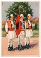 ALBANIE/ALBANIA - GUARDIA REALE ALBANESE / ILLUSTRATORE LUBATTI - Albania