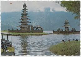 Scenery Bedugul Lake, Bali, Unused Postcard [21236] - Indonesia