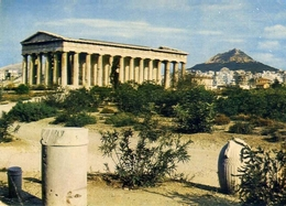 Athenes - Le Thèseion  Hephsidfrion - Formato Grande Viaggiata – E 5 - Grecia