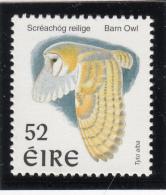 Ireland 1997 MNH Scott #1039 52p Barn Owl - Birds - 1949-... République D'Irlande