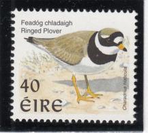 Ireland 1998-99 MNH Scott #1108 40p Ringed Plover - Birds - 1949-... République D'Irlande