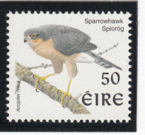 Ireland 1998-99 MNH Scott #1110 50p Sparrowhawk - Birds - 1949-... République D'Irlande