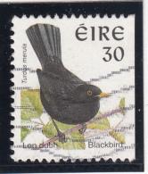 Ireland 1998-99 Used Scott #1113i 30p Blackbird - Birds - 1949-... République D'Irlande