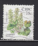 Ireland 2006 Used Scott #1652 75c Navelwort - 1949-... Repubblica D'Irlanda