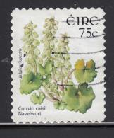 Ireland 2006 Used Scott #1655 75c Navelwort Ex Booklet - 1949-... République D'Irlande