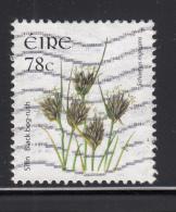 Ireland 2007 Used Scott #1710 78c Black Bog-rush - 1949-... République D'Irlande
