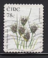 Ireland 2007 Used Scott #1729 78c Black Bog-rush Ex Booklet - 1949-... République D'Irlande