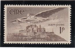 Ireland 1948-65 MH Scott #C1 1p Angel Over Rock Of Cashel - Poste Aérienne
