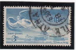 Ireland 1948-65 Used Scott #C2 3p Angel Over Lough Derg - Poste Aérienne
