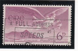 Ireland 1948-65 Used Scott #C3 6p Angel Over Croagh Patrick - Poste Aérienne