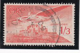Ireland 1948-65 Used Scott #C6 1sh3p Angel Over Rock Of Cashel - Poste Aérienne