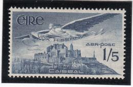 Ireland 1948-65 MH Scott #C7 1sh6p Angel Over Rock Of Cashel - Poste Aérienne