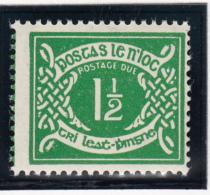 Ireland 1971 MNH Scott #J16 1 1/2p Numeral - Timbres-taxe