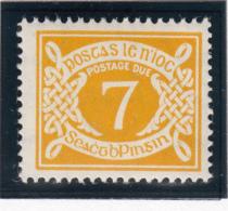 Ireland 1971 MNH Scott #J20 7p Numeral - Timbres-taxe