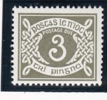 Ireland 1978 MNH Scott #J25 3p Numeral - Timbres-taxe