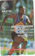 BARBADOS ISL.(GPT) - Obadele Thomson, CN : 125CBOB(normal 0), Tirage 60000, Used - Barbados
