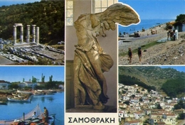 Samothraki - Ansichten - Formato Grande Viaggiata – E 5 - Grecia