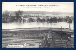 94. Villeneuve-Saint-Georges. Crue De La Seine Janvier 1910. Panorama Inondation Vers Villeneuve-le-Roi. - Villeneuve Saint Georges