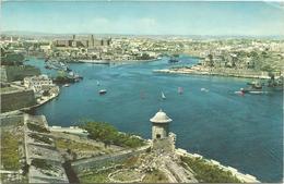 X2715 Malta - Pietà And Msida Creeks - Navi Ships Bateaux / Viaggiata 1963 - Malta
