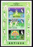 Antigua 1972 Cricket Souvenir Sheet Unmounted Mint. - Anguilla (1968-...)