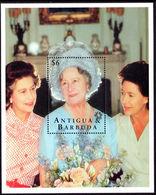 Antigua 1995 95th Birthday Of Queen Mother Unmounted Mint Souvenir Sheet. - Antigua And Barbuda (1981-...)