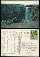 494 - BRITISH GUYANA 1976 Keieteur Falls. Sent To Canada - Postcards