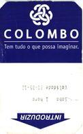 Car Parking Ticket - Ticket De Stationnement - Portugal Colombo Columbus 2012 - Transportation Tickets