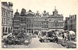 BRUXELLES - Grand'Place (N.O.) - Marktpleinen, Pleinen