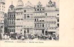 BRUXELLES - Grand'Place - Marché Aux Fleurs - Markten