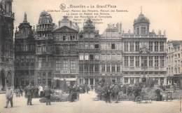 BRUXELLES - La Grand'Place (Côté Nord Ouest) - Marktpleinen, Pleinen