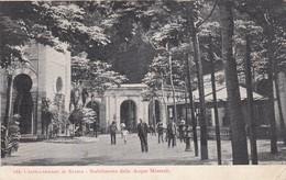 CASTELLAMMARE DI STABIA-NAPOLI-STABILIMENTO DELLE ACQUE MINERALI -CARTOLINA VIAGGIATA IL 19-10-1914 - Castellammare Di Stabia