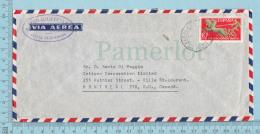 Espana - Air Mail, Correspondencia Urgente, Letter, 1971, Via Aerea To Canada - 1931-Aujourd'hui: II. République - ....Juan Carlos I
