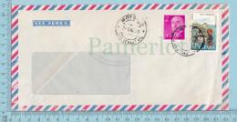 Espana - Air Mail, Commercial Envelope, Yurita & Sons, Cover Montrico 1975 Send To Canada - 1931-Aujourd'hui: II. République - ....Juan Carlos I