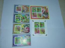 Chad 2012   Butterflies 2620-2623 BL488-491 - Tchad (1960-...)