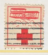 JAMAICA  RED  ROSS  LABEL  AEROPHILATELIC - Jamaica (1962-...)