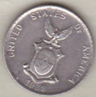 Philippines U.S.A . Administration. 10 Centavos 1938 M Manila .Argent. KM# 181 - Philippines