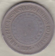 Bresil. 200 Reis 1896. Copper-Nickel .KM# 493 - Brazil