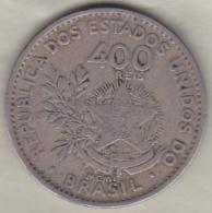 Bresil. 400 Reis 1901. Copper-Nickel .KM# 505 - Brésil