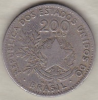 Bresil. 200 Reis 1901. Copper-Nickel .KM# 504 - Brazil